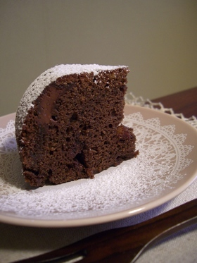 手抜きnaチョコたっぷりケーキ