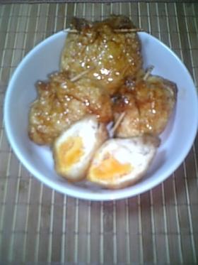きんちゃく卵甘辛煮