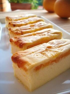 オレンジ&ヨーグルトのチーズケーキ