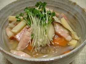 食べる食べる☆春雨スープ
