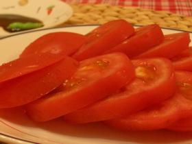 トマトの刺身