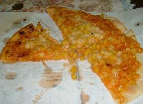 簡単・美味。ミラクルコーンピザ