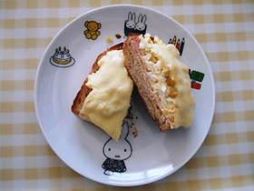 ささやかな贅沢♪全部のっけトースト