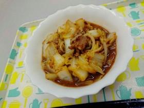 豚肉と白菜の味噌炒め