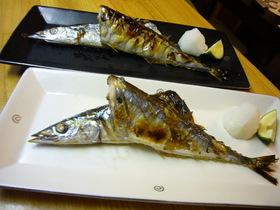 さんまのおいしい焼き方(覚書)