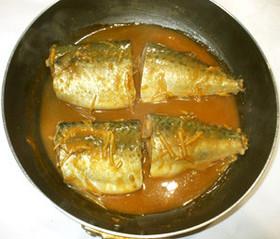 基本の魚・サバの味噌煮♪簡単