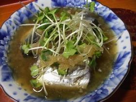 秋刀魚のみぞれ煮