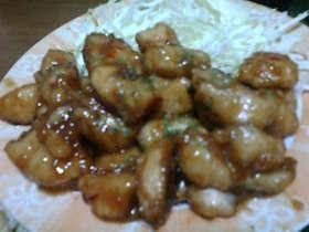 鶏胸肉のコロコロ♪ハニー甘酢煮♪