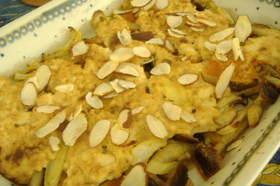 豆腐味噌マヨ和風グラタン