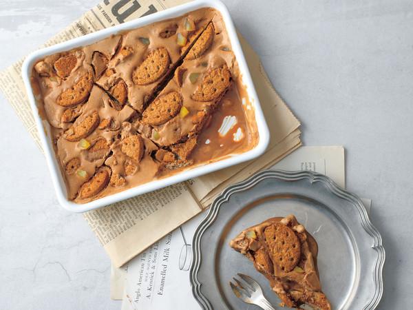 栗とチョコレートのアイスケーキ