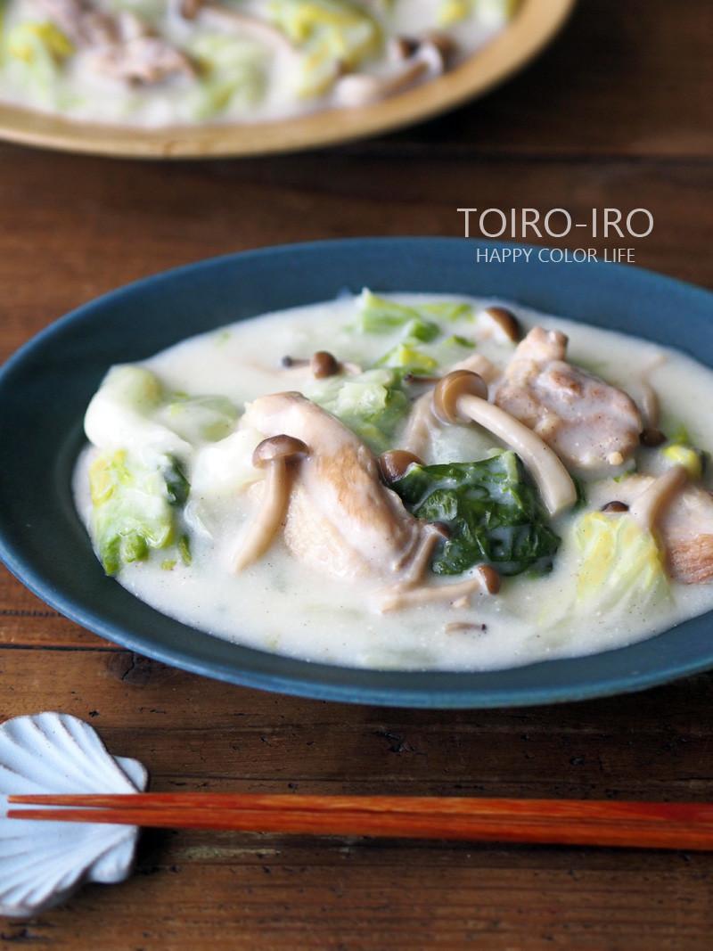 トロトロ〜♪鶏肉と白菜のクリーム煮