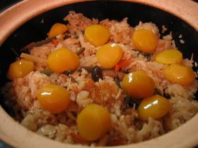 栗の甘露煮入り 山菜おこわ