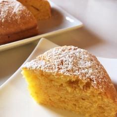 優しい甘さのにんじんケーキ