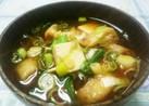 お豆腐と油揚げの赤味噌お味噌汁