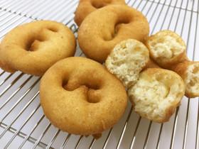 道産粉で☆懐かしの味♪絞り出しドーナッツ