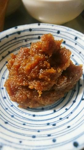 田舎味噌で自家製甜麺醤(テンメンジャン)