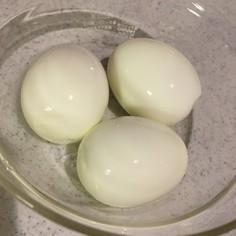 お酢で解決♡ゆで卵をつるんと剥く方法