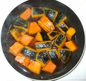 基本のかぼちゃの煮物♪簡単