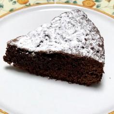 メレンゲ不使用 簡単ガトーショコラ