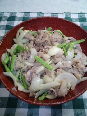 レンジで作る!豚の生姜焼き