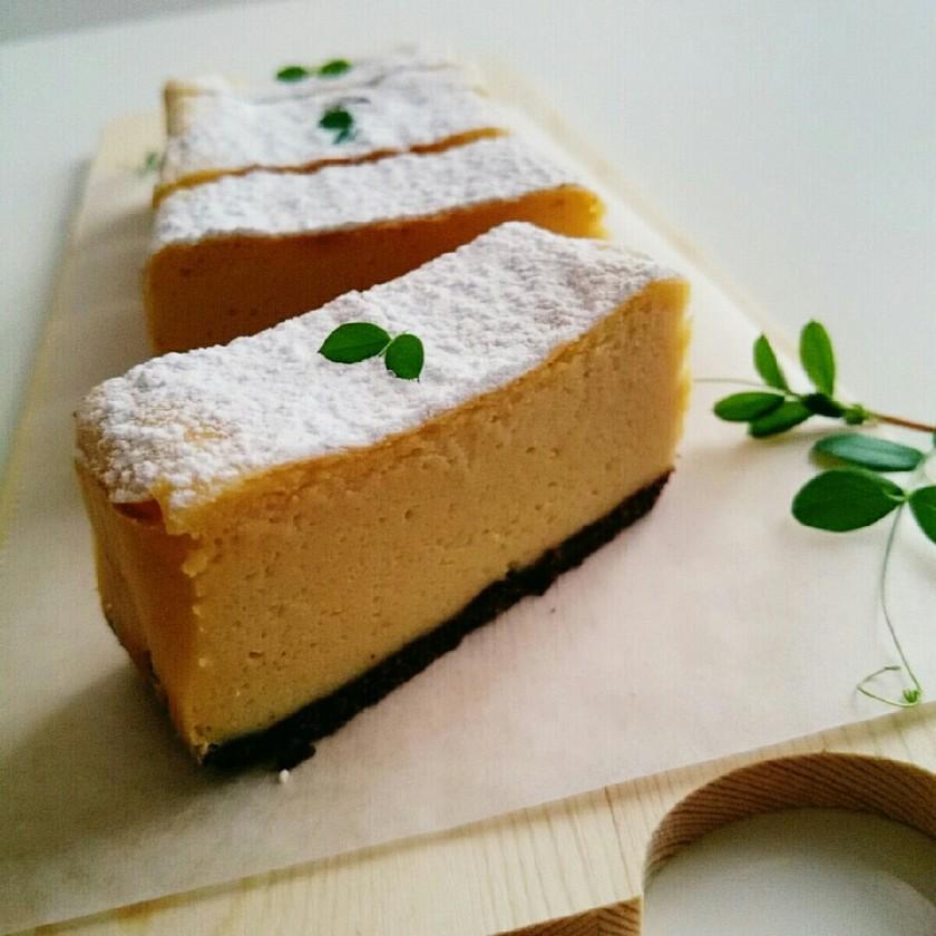 秘密にしたい簡単濃厚ベイクドチーズケーキ