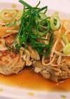 さっぱり!おろしポン酢の豆腐ハンバーグ
