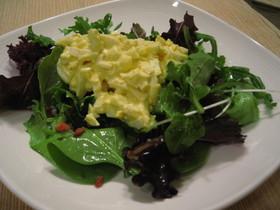 素朴な味☆たまごのサラダ