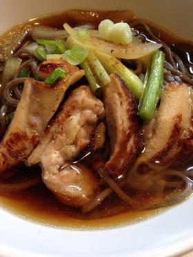鶏そば(鴨そば)