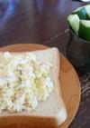 白菜ちくわトースト