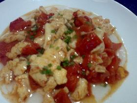究極の西紅柿炒鶏蛋を求めてTake-2