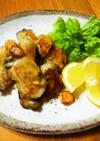 牡蠣のガーリック焼き♪