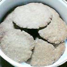 シャリシャリ☆はったい粉クッキー