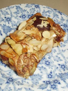秋冬のお菓子☆森の恵みのアーモンドケーキ