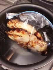 炊飯器で簡単!鶏胸肉のチャーシューの写真
