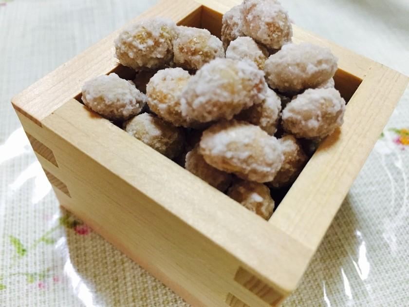 福豆で砂糖菓子♡