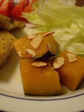 カボチャの蜂蜜煮