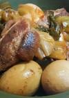 炊飯器で簡単!豚の角煮と味玉