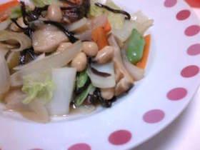 野菜炒め?八宝菜?