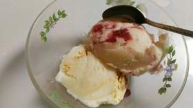 マシュマロで簡単!チーズケーキ風アイス♪
