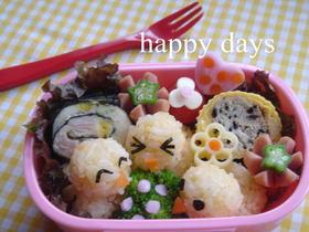 ポテトサラダの海苔巻き(お弁当のおかず)