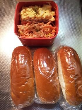【お弁当】手抜きサンドウィッチ