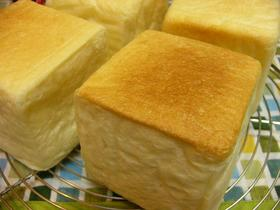 7㎝キューブ食パンの牛乳パック型❤