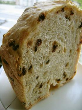 ホームベーカリーで レーズンフランスパン