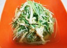 あっさり◎水菜と油揚げの京風炊いたん◎