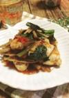 柔らか☆鶏ささみとごぼうのトマトソース煮