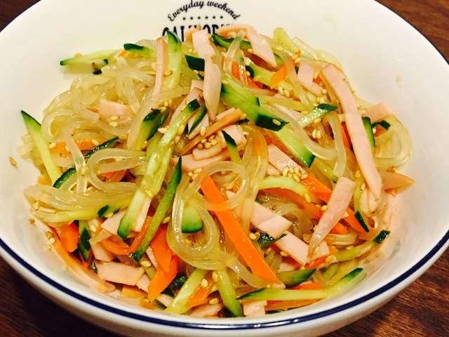 中華 サラダ