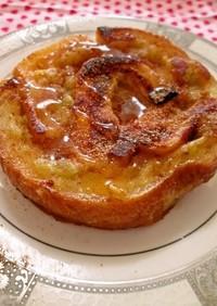パンミミとさつま芋のミニパンケーキ