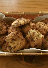 簡単!友チョコ用にチョコチップクッキー