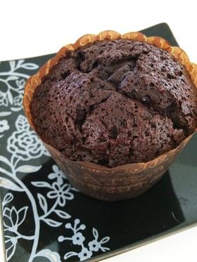 混ぜるだけカップで簡単濃厚ガトーショコラ