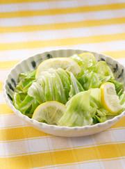 レンジでできるキャベツの浅漬けサラダの写真